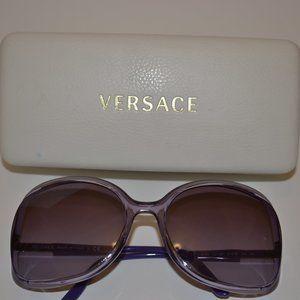 Versace Sunglasses 4174 121/8H Transparent Violet